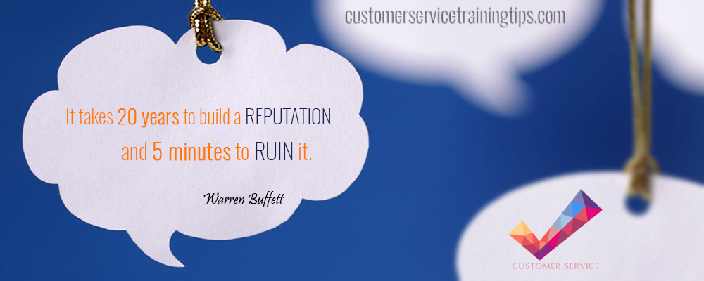 Customer Service Quote Buffett